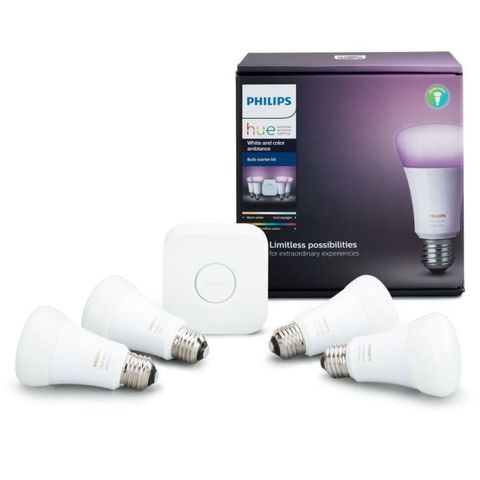 Philips Hue White and Color Ambiance Wireless Lighting Kit