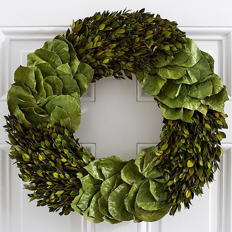 ProFlowers Preserved Natural Greenery Wreath