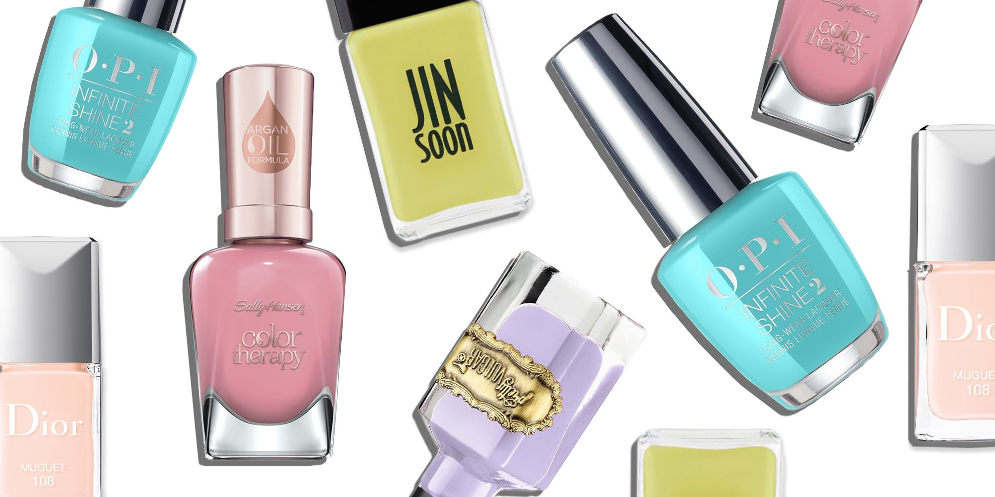 10 Best Spring Nail Colors in 2018 - Pretty Nail Polish Shades for ...