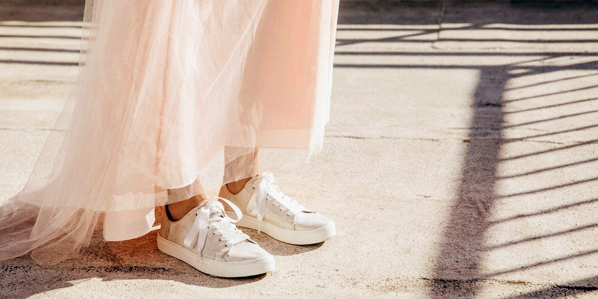 10 Best Wedding Sneakers for Brides in