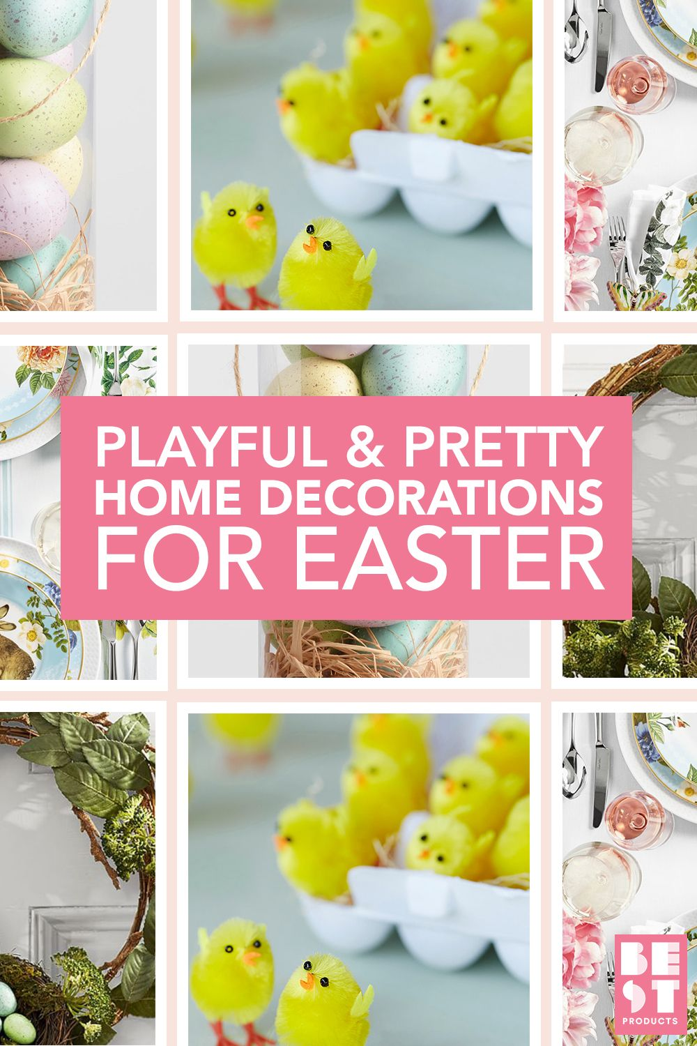 15 Best Easter Decorations for 2018 - Easter Decorating Ideas for ...
