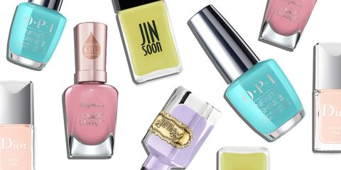 Spring Nail Polish Beauty