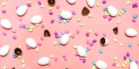 chocolate easter eggs candy
