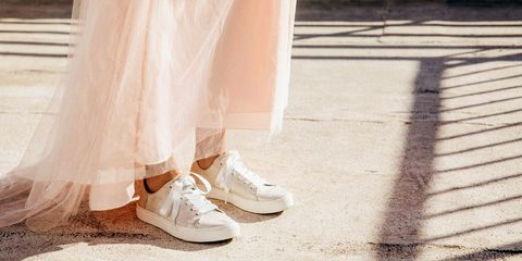 263835f8141 10 Best Wedding Sneakers for Brides in 2018 - Cute Wedding Sneakers