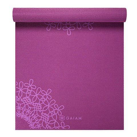 Gaiam Classic Medallion Yoga Mat