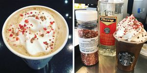Starbucks released a Cherry Mocha drink for Valentine's Day