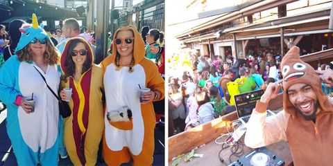 Onesie Bar Crawl in Denver, Colorado and around the country
