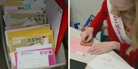Loveland Valentine Re-mailing Program in Colorado for Valentine's Day