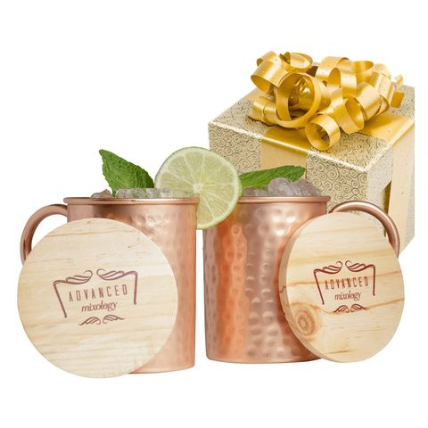 Moscow Mule Copper Mug Gift Set