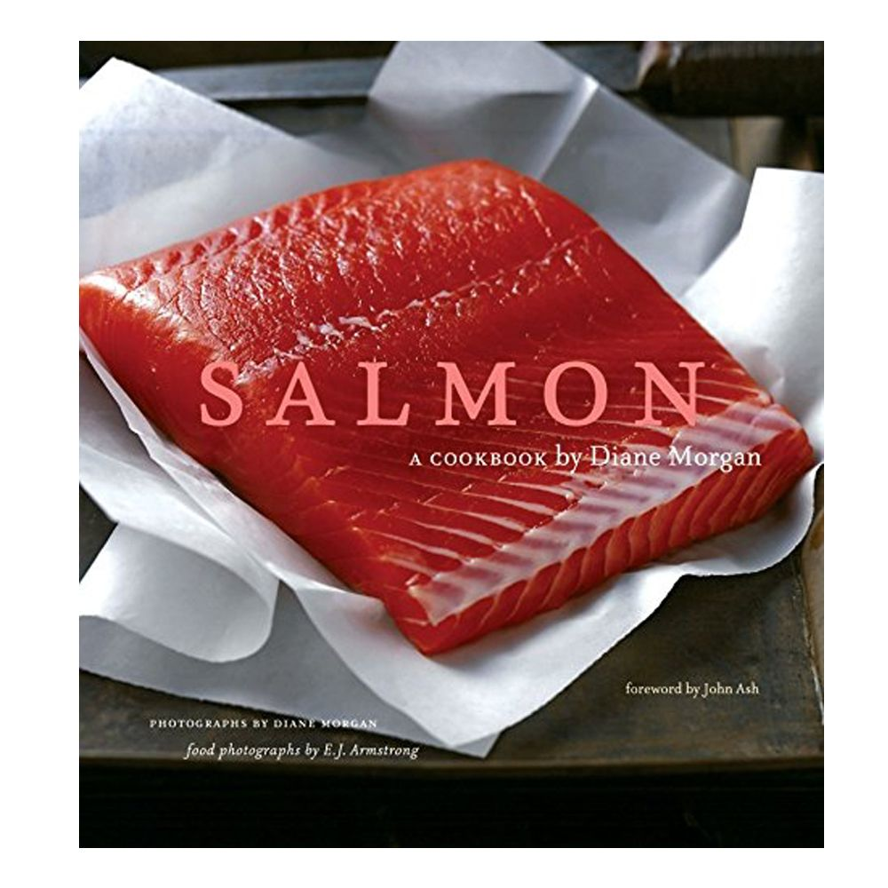 "<p><strong data-redactor-tag=""strong"" data-verified=""redactor""><em data-redactor-tag=""em"" data-verified=""redactor"">Salmon: A Cookbook</em></strong></p><p><strong data-redactor-tag=""strong"" data-verified=""redactor""><em data-redactor-tag=""em"" data-verified=""redactor"">from $20</em></strong>&nbsp&#x3B;<a href=""https://www.amazon.com/Salmon-Cookbook-Diane-Morgan/dp/0811842126/ref=sr_1_2?tag=bp_links-20"" target=""_blank"" class=""slide-buy--button"" data-tracking-id=""recirc-text-link"">BUY NOW</a></p><p>They don't call it Alaskan-caught salmon for nothin'! Pick up a premium filet and whip up any one of the&nbsp&#x3B;tasty recipes included in this top-rated salmon cookbook from Diane Morgan.&nbsp&#x3B;</p>"