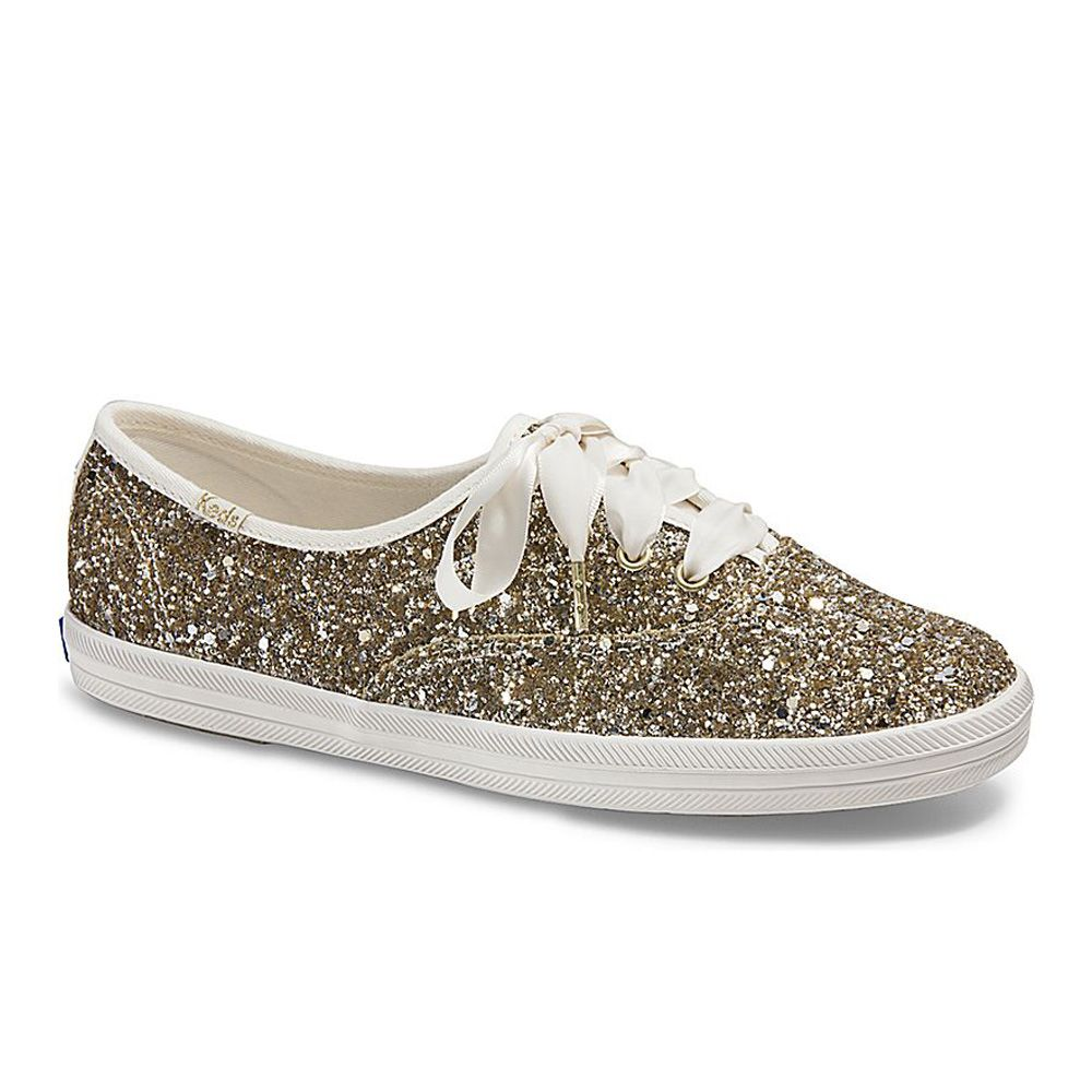 sparkly sneakers wedding