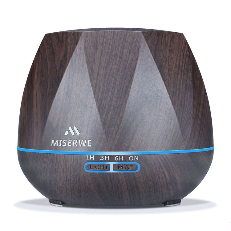 Miserwe Diffuser Adjustable Mist Aromatherapy Essential Oil Diffuser
