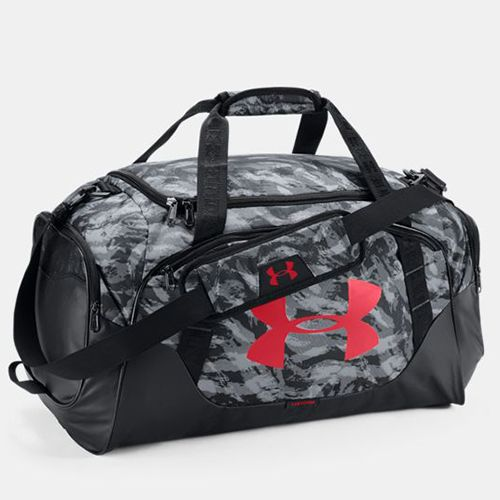 """<p><strong data-redactor-tag=""""strong"""" data-verified=""""redactor""""><em data-redactor-tag=""""em"""" data-verified=""""redactor"""">$45</em></strong> <a href="""" https://www.underarmour.com/en-us/mens-ua-undeniable-3-0-medium-duffle-bag/pid1300213-001 """" target=""""_blank"""" class=""""slide-buy--button"""" data-tracking-id=""""recirc-text-link"""">BUY NOW</a> </p><p><strong data-redactor-tag=""""strong"""" data-verified=""""redactor"""">Best Overall</strong> </p><p>This option gets the top honor for being a total hit with gymgoers. It's undeniably the best! Made from seriously strong UA Storm technology fabric, this water-resistant gym bag has a padded shoulder strap (with HeatGear technology) and a vented pocket to hold your dirty gym sneakers (plus room for shower sandals!). Some reviewers even say they could fit two or three gym outfits in this bad boy! While it comes in 11 different colorways, our favorite is the steel print for a masculine-yet-stylish print. </p><p><strong data-redactor-tag=""""strong"""" data-verified=""""redactor"""">Complete the Look</strong>: Like their killer gym bags, Under Armour has the perfect athletic gearfor style and function. Check out their subscription service <a href=""""https://www.underarmour.com/en-us/armourbox"""" target=""""_blank"""" data-tracking-id=""""recirc-text-link"""">ArmourBox</a> for a head-to-toe outfit to meet all your needs. The personal profile will ask your fitness goals, what kind of workouts you'll be doing, and what's your style. Combining your information with purchasing data and reviews from UA.com and Under Armour's Connected Fitness customers, they'll pick the perfect pieces you'll seriously love. </p><p><strong data-redactor-tag=""""strong"""" data-verified=""""redactor"""">More</strong>:<a href=""""http://www.bestproducts.com/fashion/g1207/mens-womens-sweatpants/"""" target=""""_blank"""" data-tracking-id=""""recirc-text-link"""">10 Most Comfortable Sweatpants for Men and Women</a><span class=""""redactor-invisible-space"""" data-verified=""""redactor"""" data-redactor-tag=""""span"""" data-redactor-class=""""redactor-invisible"""
