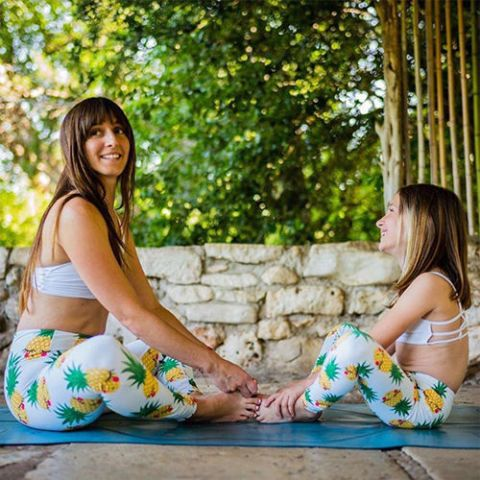 Frantered Family Pineapple Yoga Pants