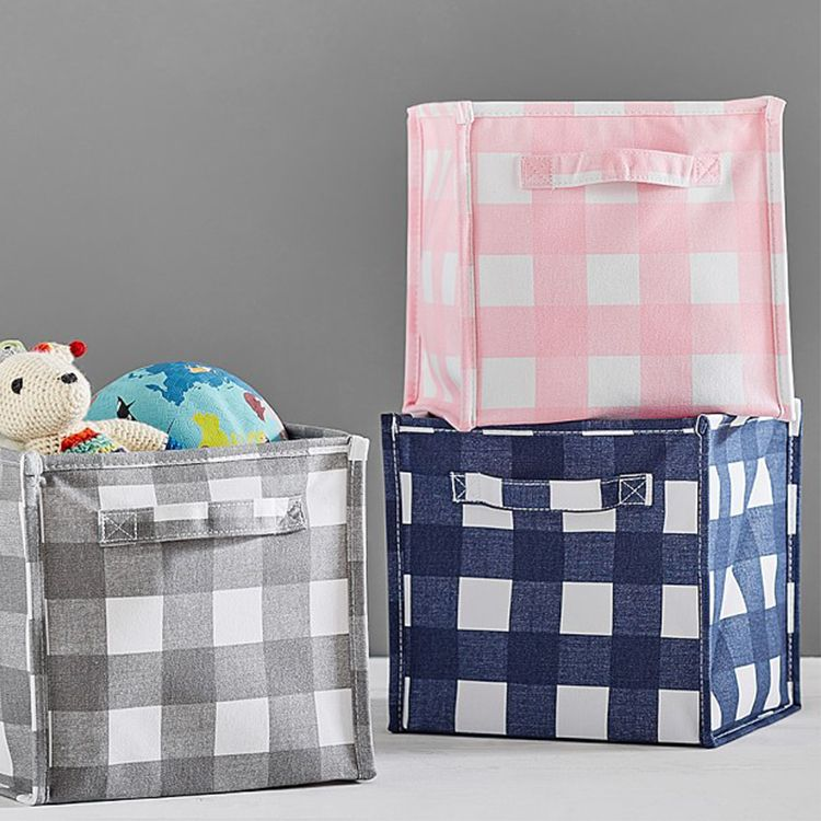 Pottery Barn Kids Canvas Pop-Up Storage