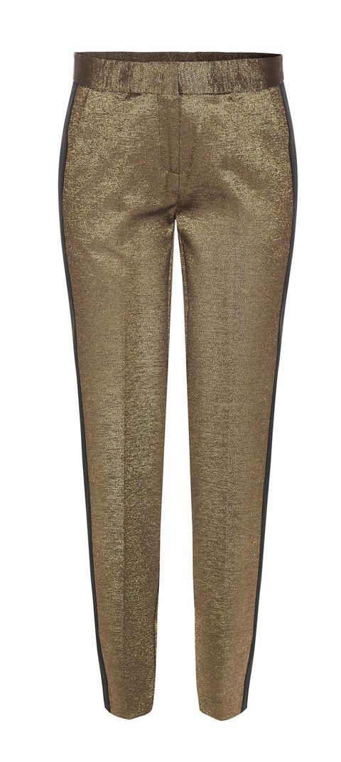 Lurex dorato e banda laterale, <b>Space Couture</b>