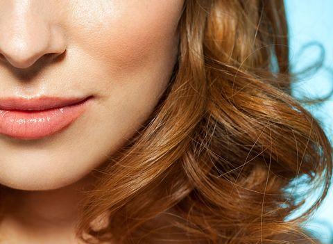 Lip, Cheek, Brown, Hairstyle, Skin, Chin, Facial expression, Eyelash, Jaw, Earrings,