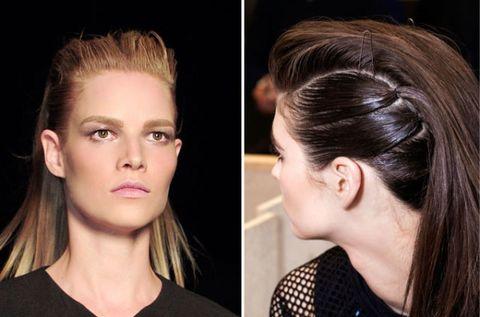 Hair, Head, Ear, Lip, Cheek, Brown, Hairstyle, Skin, Chin, Forehead,