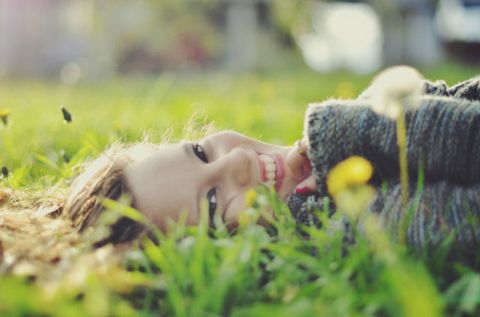 Grass, Green, People in nature, Eyelash, Woolen, Knitting, Photography, Wool, Close-up, Thread,