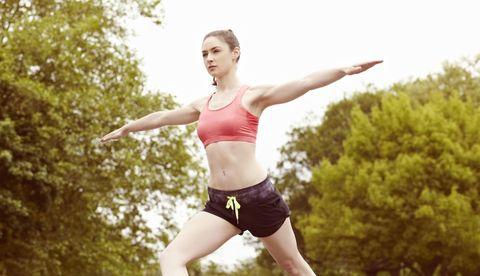 Mouth, Human leg, Waist, People in nature, Running, Exercise, Summer, Abdomen, Beauty, Trunk,