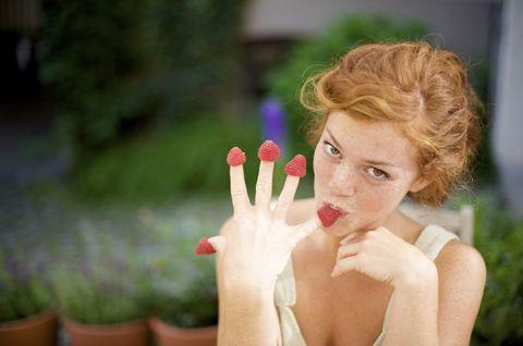 Finger, Flowerpot, Nail, Petal, Wrist, Eyelash, Blond, Photography, Houseplant, Brown hair,