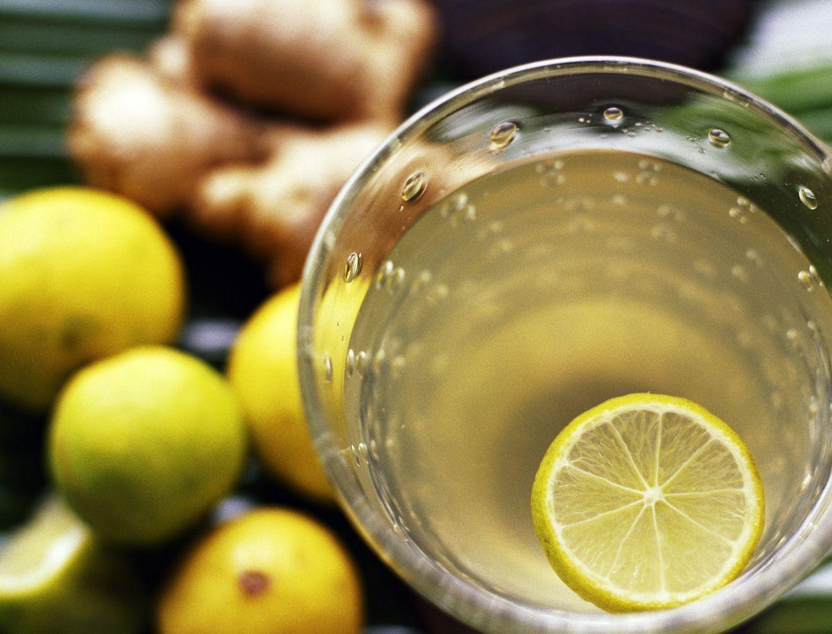 tisana brucia grassi al limone