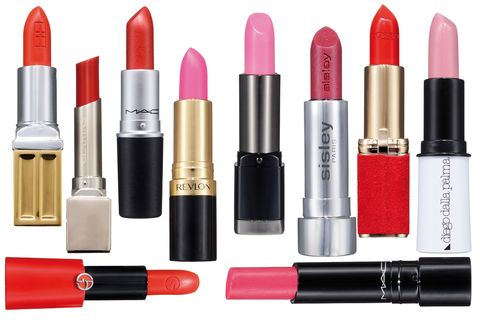 Brown, Red, Orange, Magenta, Lipstick, Pink, Purple, Peach, Tints and shades, Style,