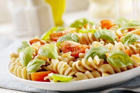 Food, Cuisine, Rotini, Fusilli, Tableware, Serveware, Pasta, Dishware, Ingredient, Recipe,