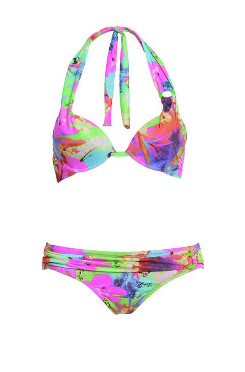 Brassiere, Pink, Purple, Swimsuit bottom, Swimwear, Bikini, Swimsuit top, Undergarment, Violet, Headgear,