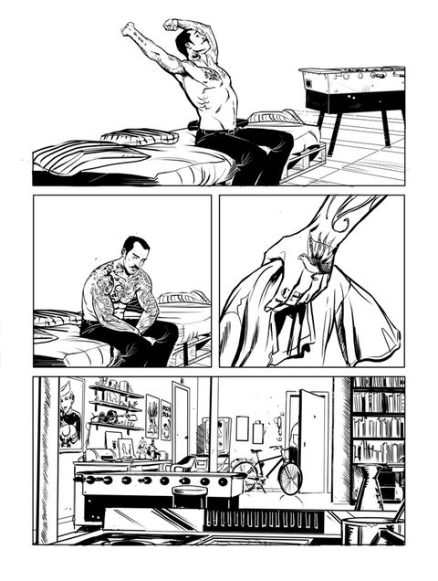 Elbow, White, Line, Parallel, Black-and-white, Illustration, Monochrome, Conversation, Drawing, Fiction,