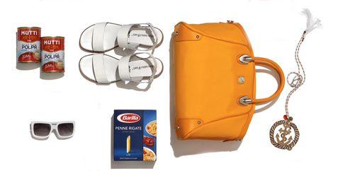 Product, Orange, Amber, Bag, Logo, Shoulder bag, Tan, Strap, Leather, Brand,