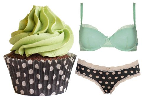 Brassiere, Cupcake, Dessert, Baked goods, Food, Undergarment, Baking cup, Sweetness, Lingerie, Cake,