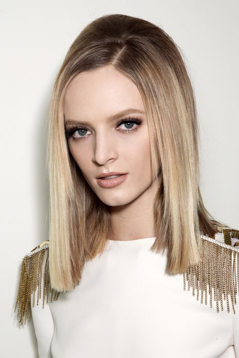 Nose, Lip, Hairstyle, Eye, Eyebrow, Eyelash, Style, Jaw, Long hair, Beauty,