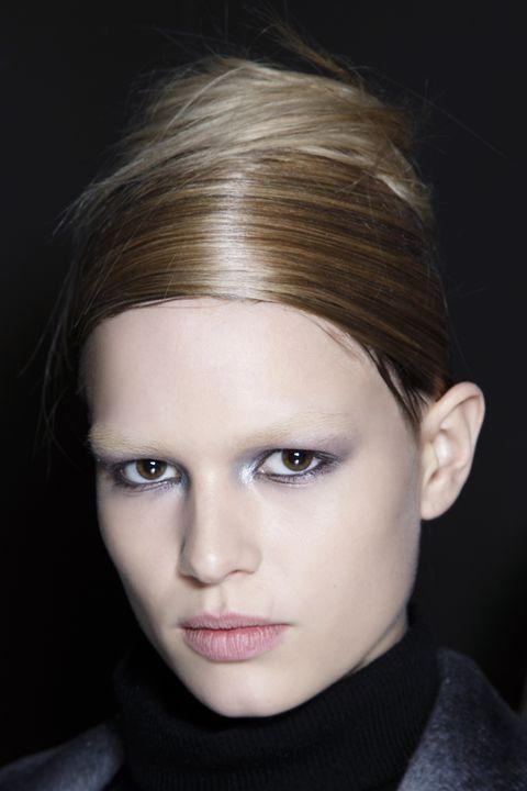 Lip, Cheek, Hairstyle, Eye, Chin, Forehead, Eyelash, Eyebrow, Style, Iris,