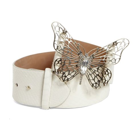 Invertebrate, White, Wing, Insect, Butterfly, Fashion accessory, Arthropod, Pollinator, Metal, Beige,
