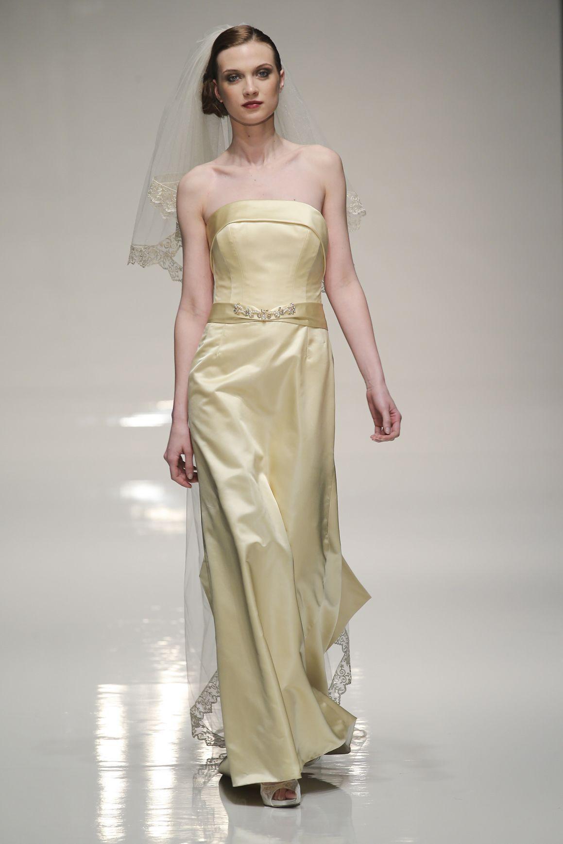 Famoso 5 abiti da sposa dorati per la primavera estate 2014 CS12