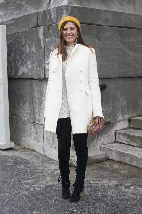 6 modi di portare il cappotto bianco 28184c23c81