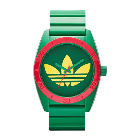 Green, Watch, Logo, Teal, Symbol, Watch accessory, Circle, Brand, Coquelicot, Analog watch,