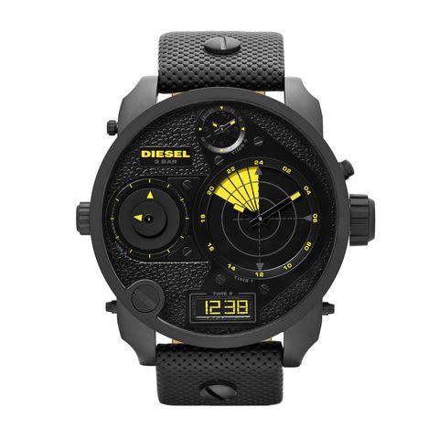 Product, Watch, Technology, Electronic device, Glass, Font, Black, Orange, Analog watch, Carbon,