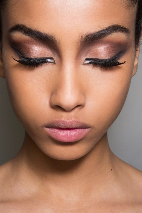 Lip, Cheek, Brown, Skin, Chin, Eyelash, Forehead, Eyebrow, Eye shadow, Style,
