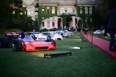 Automotive design, Window, Car, Neighbourhood, Motorsport, Performance car, Race car, Sports car, Supercar, Lawn,