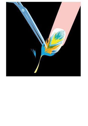 Colorfulness, Electric blue, Aqua, Feather, Artwork, Graphics, Graphic design,