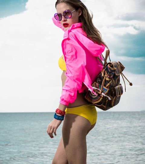 Eyewear, Vision care, Bag, Pink, Sunglasses, Magenta, Goggles, Style, Summer, Beauty,