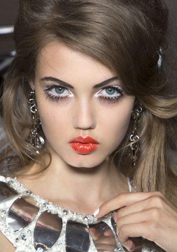 Nose, Lip, Mouth, Hairstyle, Eye, Chin, Forehead, Eyelash, Eyebrow, Eye shadow,
