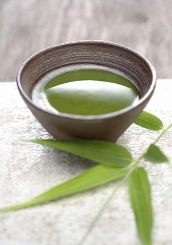 Green, Serveware, Ingredient, Leaf, Dishware, Drink, Spice, Cup, Sencha, Green sauce,