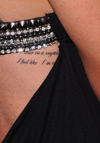Tatuaggi Aforismi Sulla Pelle