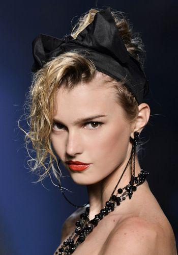 Lip, Hairstyle, Chin, Eyebrow, Jewellery, Eyelash, Style, Fashion accessory, Beauty, Headgear,