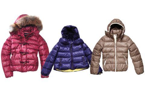 Jacket, Sleeve, Winter, Textile, Outerwear, Fur clothing, Hood, Parka, Magenta, Natural material,