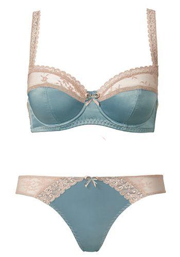 Brassiere, Undergarment, Lingerie, Teal, Aqua, Swimwear, Bikini, Costume accessory, Turquoise, Fashion,