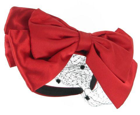 Collar, Red, Costume accessory, Carmine, Embellishment, Coquelicot, Undergarment, Bow tie, Silk, Velvet,